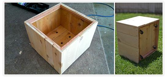 Build Wooden Box Storage